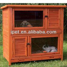 2014 Hottest Wooden Pet House good design wooden rabbit hutch RH055