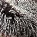 de pelo largo de piel de punto