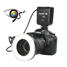 Aputure camera ring flash light HC100 with CRI 95+ bulbs