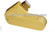 Swivel wooden usb flash drive 16 gb flash drive bulk cheap wooden usb 2.0