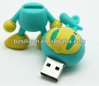 Character animal pvc usb flash drive cartoon flas