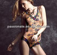 2014 sexi open extreme sheer bikini for mature women