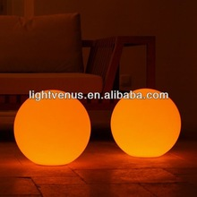High quality led glow ball/led illuminated sphere lighting