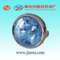 Mejor universal azul tigre faros crome, superior calidad de la motocicleta de la cabeza de la lámpara