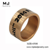 MJR-0508 2014 Rose Gold Plated World Cup Brazil Ring