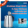 Electrical kettle with stainless steel meterial fashion design