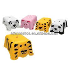 Small plastic animal stool for children