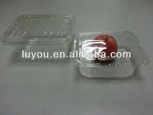 transparent PET plastic fruit punnet