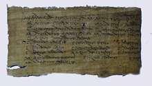 papyrus reproduction art replique