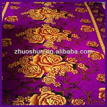 100% polyester indian velvet bedsheets