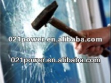High quality safety toughened tempered laminated bulletproof glass door and window office glass