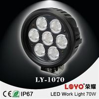 2014 New product led driving light 4x4 atv snow plow 70W Combo led work light