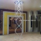 Fancy pendant lamp crystal modern stairs light
