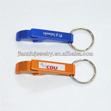 Promotional Oxidized Aluminum Bottle opener key chain