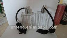 100ml air pump long Perfume Glass Bottles
