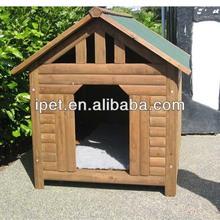 Wooden dog transport cage DK015