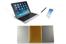 For iPad Air 5th Metal Aluminum Wireless Bluetooth Keyboard Case