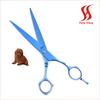 Straight dog grooming scissors
