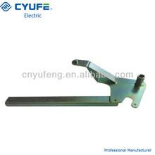 shutter mechanism of switchgear parts