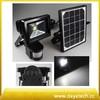 3.5W solar panle 10W led flood light with PIR sensor motion sensor led solar light