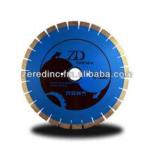 ZERED Silent Core Diamond Blade for Bridge Saw Granite Marble Sleepwell