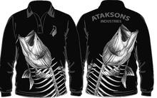 Custom Fishing Shirts Sublimated Fishing Jerseys Fishing Wear - Pakistan Sialkot - Ataksons Industries
