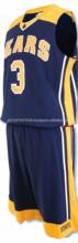 Full customized Basketball Uniforms/European basketball uniform