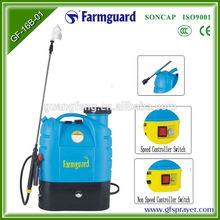 16L knapsack electric power tractor boom sprayer