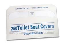 1/2 fold flushable paper toilet seat cover