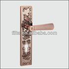 Luxury Hotel Door Handle Lock With Superior Zinc Alloy Material