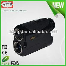 6*24 china portable precision black color laser distance and golf pin measurement