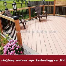 25mm wpc laminated floor board for verandas