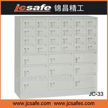 bank safe deposit box,33doors,small door with inner box