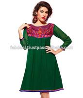 Pakistani Designer Long Kurtis 2013 | Pakistani Style Long Kurta | Wholesale Clothing Dubai