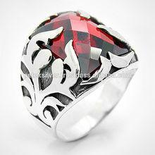 Silver Men's Gemstone Ring - Petek Silver Jewelry
