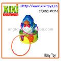оптовая пластиковые мультфильма со звуком игры кольцо игрушка для ребенка