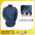 Fireproof 6~8oz camisa jeans operário para proteção