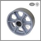 Dalian foundry sand casting 65-45-12 ductile iron wheel