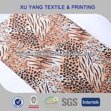 Fashion animal foil print fabric for leggings