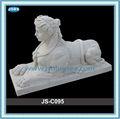 mão esculpida branco egípcio escultura em pedra esfinge