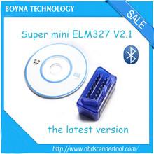 New super mini ELM327 Bluetooth OBD-II OBD the smallest around the world .obd #SSS