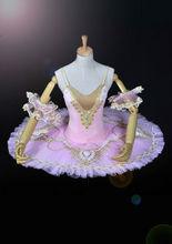 2700032 rosa claro del tutú del Ballet clásico traje de wonder woman