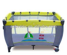 EN71 Folding baby playpen bed