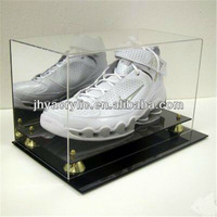 acrylic shoe box ,clear transparent plexiglass shoe display box, shoe case