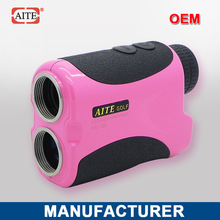 6*24 400m Laser rangefinder with pinseeking and slope measure function club car golf cart