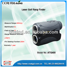 6*24 400m Aite Golf Laser Rangefinder with Easy-to-view Uncluttered LCD