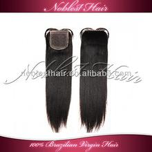 "wholesale yaki silk top closures 3.5""*4"" 100% brazilian virgin hair 10""-20"" natural color light yaki top closure fast shipping"