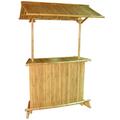 Btb108- natural bambu tiki bar com telhado de bambu