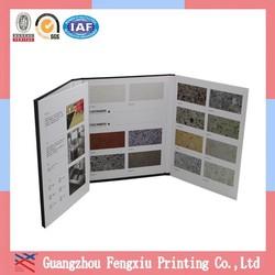 Custom A4 Folded Restaurant Menu Book Design and Printing