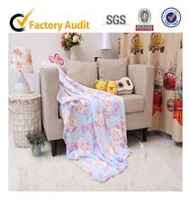 2013 New design printed coral fleece blanket,animal pattern coral fleece fabric, Pleasant Sheep printed coral fleece